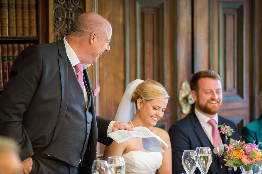 Short  Sweet Father Of The Bride Speech Examples