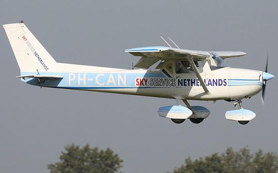 Piloot voor 1 dag! Zelf in een Cessna vliegen 44,50!