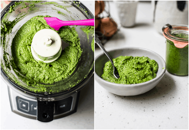 Wild Garlic and Sage Pesto
