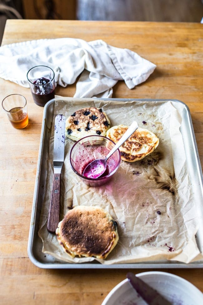 Clinton St. Baking Co.'s Famous Blueberry Pancakes - Izy Hossack