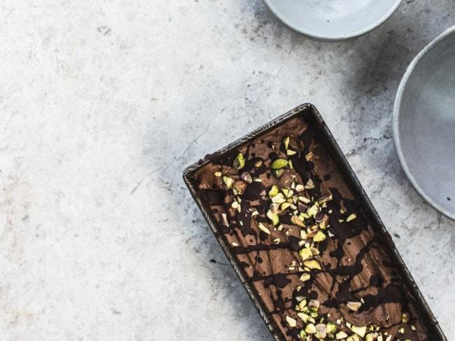 Magical Sweet Potato Chocolate Ice Cream {No Added Sugar & Vegan}