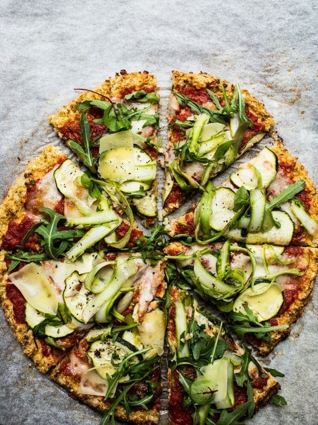 Asparagus-and-Courgette-Cauliflower-Flatbread
