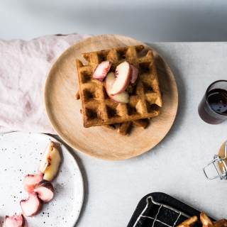 crispy-sourdough-waffles-5