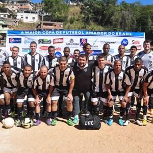 O LFC, equipe da categoria Adulta, é um dos destaques da maior competição de futebol amador do Brasil