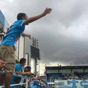 Torcida comparece a Curuzu para apoiar o Papão. (Foto: Site oficial do Paysandu)