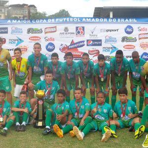 Bonsucesso: campeão mirim da Copa Prefeitura Bahamas de Futebol Amador 2014