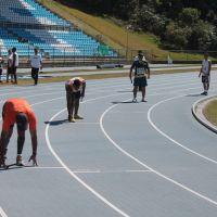 "Faefid comemora chegada de equipamentos para pista de atletismo: ""Está completa"""