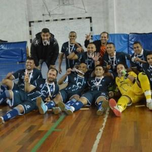 Esdeva levou o título de campeão do futsal masculino em 2016