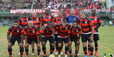 Equipe master do Flamengo: Nunes, Cláudio Adão e Beto entre os destaques para marcar o primeiro domingo do Sport Club Juiz de Fora como centenário