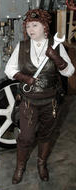 Steampunk archetype costume - Mechanic/Scientist