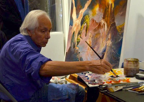 Art Out Loud 7: An Afternoon of Painting with Julie Bell, Rick Berry, Donato Giancola, Greg Manchess, and Boris Vallejo