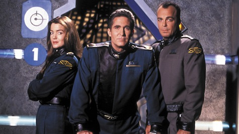 Babylon 5 Star Trek Deep Space Nine controversy ripped off