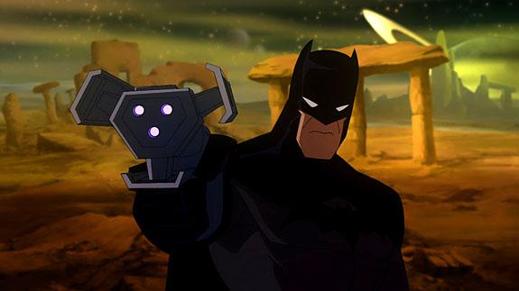 Justice League Crisis on Two Earths Batman William Baldwin