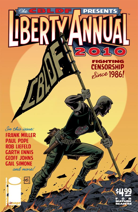 CBLDF: Liberty Annual 2010