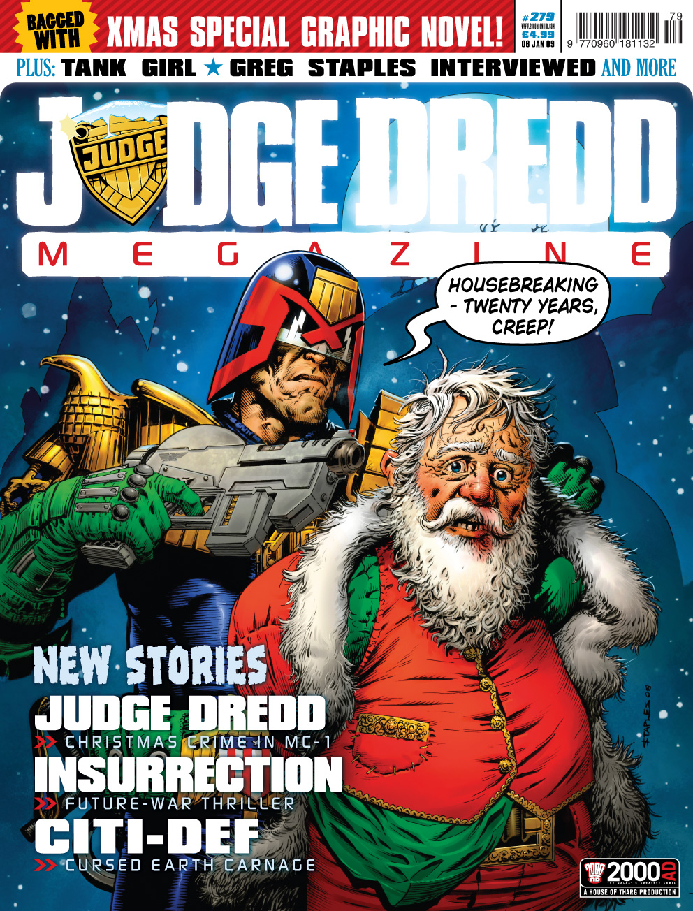 Figure 20 Judge Dredd Megazine 279 6 January 2009