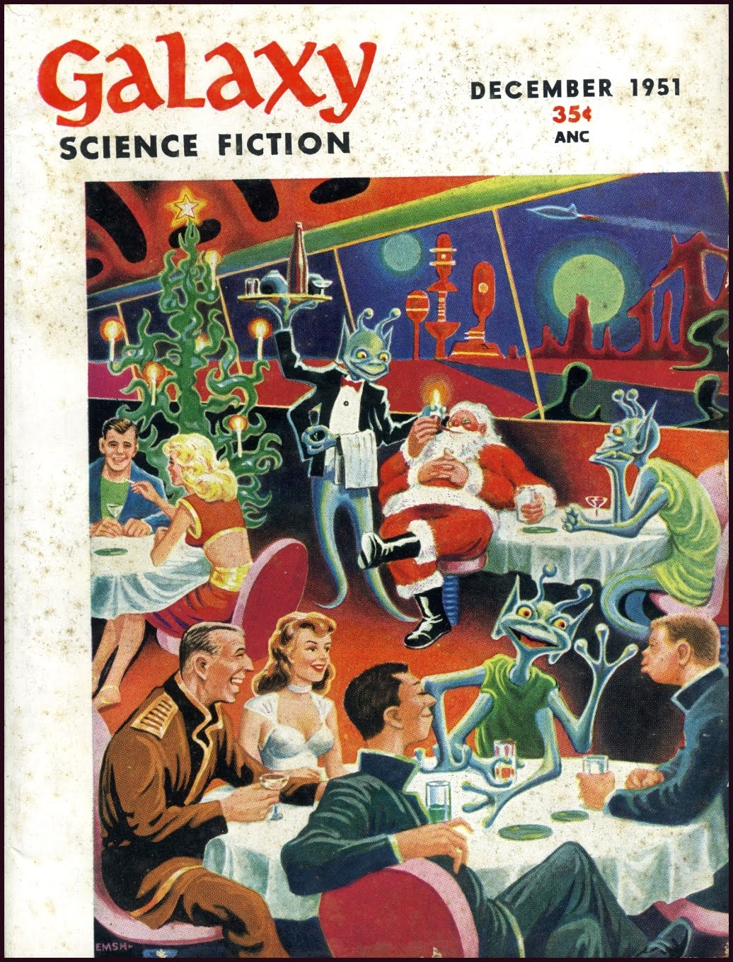 Figure 6: Galaxy Magazine December 1951