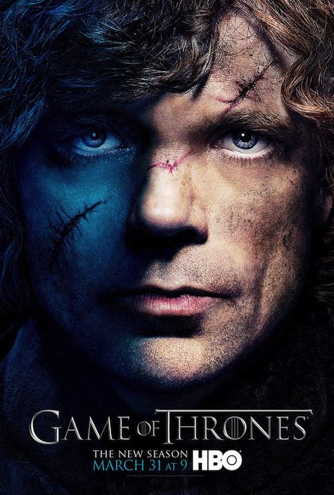 Game of Thrones season 3 character posters Tyrion