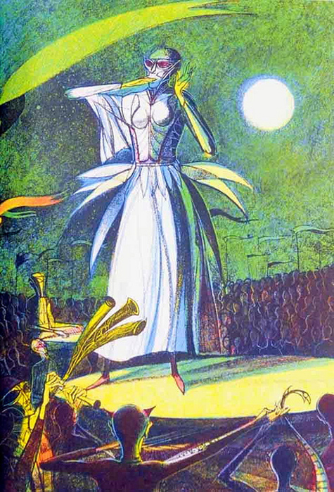 Joseph Mugnaini and The Martian Chronicles.
