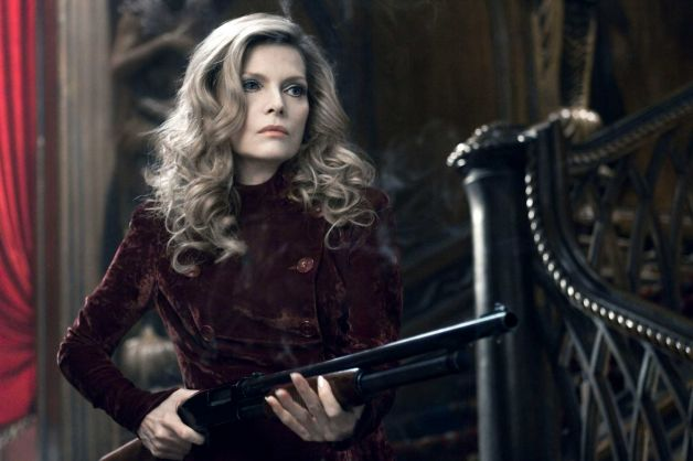 Michelle Pfeiffer as Elzabeth Collins (with a shotgun)