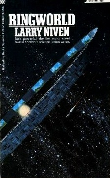 Ringworld by Larry Niven, first edition cover