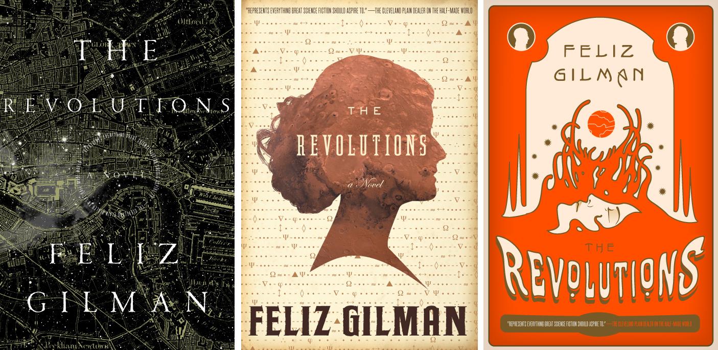 The Revolution alternate covers.