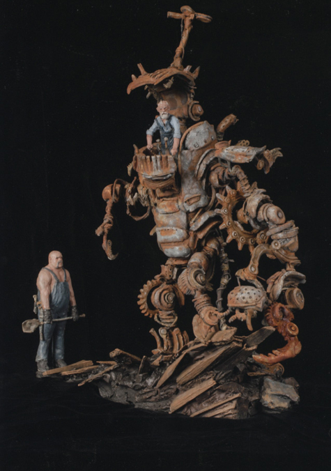 The Shiflett Bros. Vertical Man-Tank, 1892
