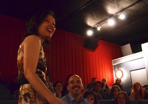 Filmmaker Maria Cabardo