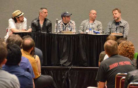 New Storytellers: Art as Narrative with Jon Schindhette, Nathan Fox, Mike Mignola, and Mark Chiarello