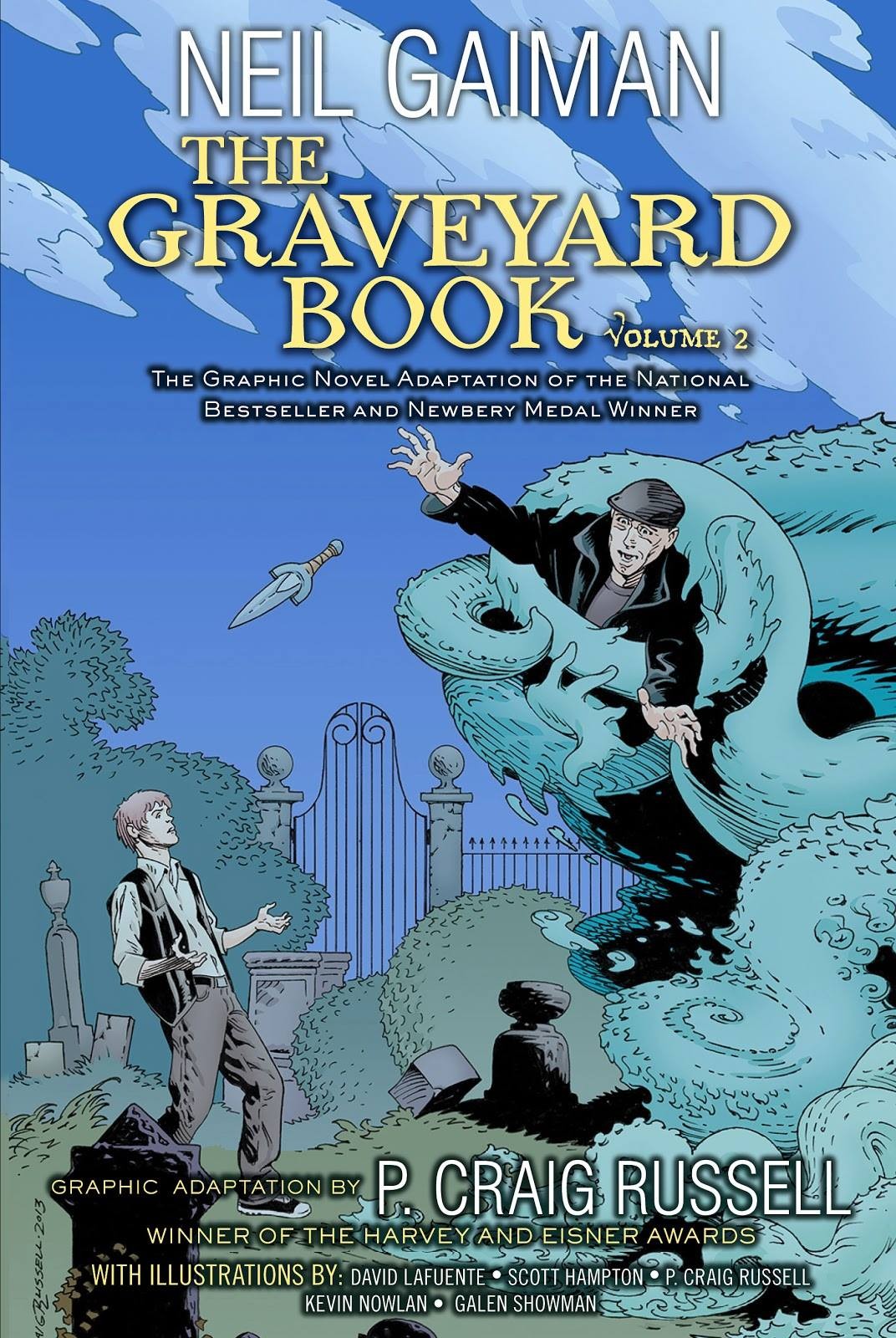 The Graveyard Book Graphic Novel: Volume 2 by Neil Gaiman & P. Craig Russell