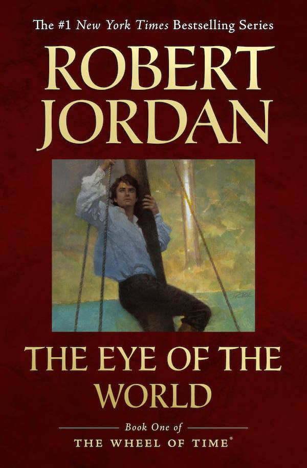 Wheel of Time trade paperback cover of The Eye of the World