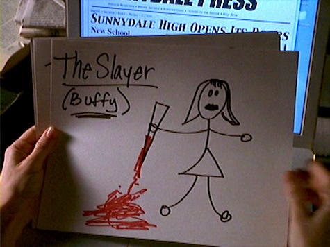 Buffy the Vampire Slayer, First Date