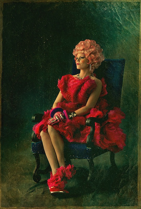 Capitol Portraits Effie Trinket Catching Fire