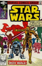 Star Wars Droid World comic
