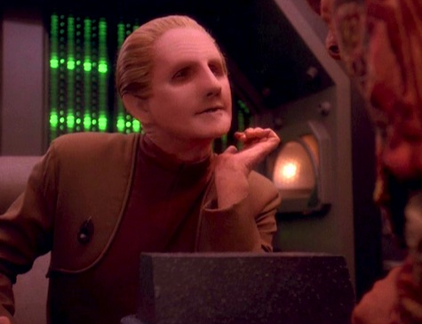 Deep Space Nine, Rapture, Odo