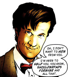 The Eleventh Doctor comics