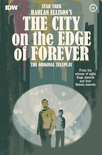 The City on the Edge of Foreever comic Harlan Ellison Star Trek