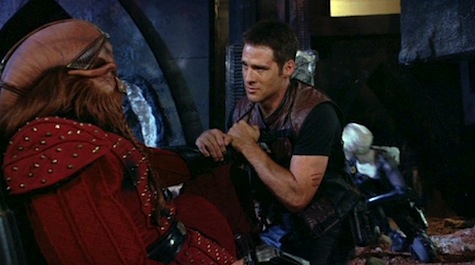 Farscape: The Peacekeeper Wars, D'Argo, Crichton