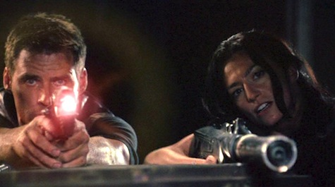 Farscape: The Peacekeeper Wars, Aeryn, Crichton