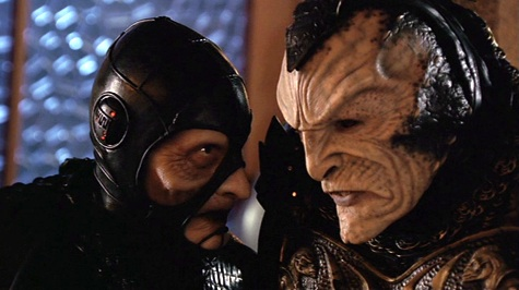 Farscape, We're So Screwed I: Fetal Attraction, Scorpius, Jenek