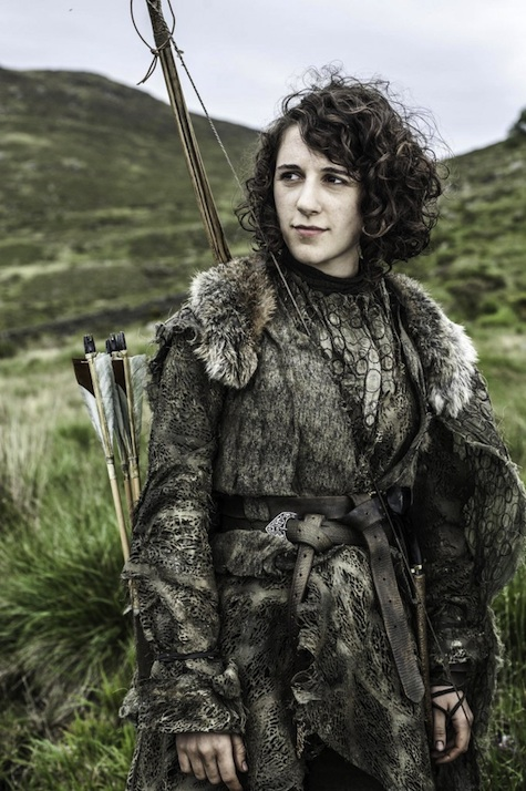 Game of Thrones season 3 Meera Reed