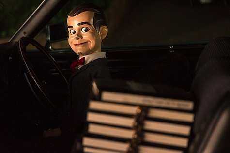 Sony Goosebumps Jack Black San Diego Comic Con 2014 Slappy the Dummy