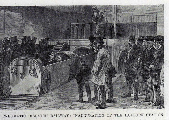 London Pneumatic Dispatch Railway