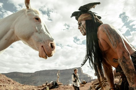 The Lone Ranger, Johnny Depp