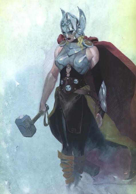New Thor armor