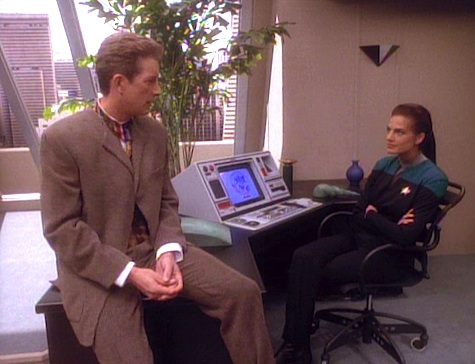 Star Trek: Deep Space Nine Rewatch on Tor.com: Past Tense, Part I