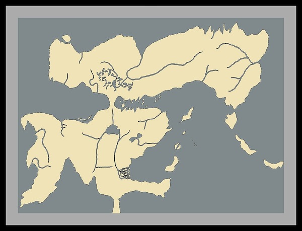Isaac Stewart Emperor's Blades map