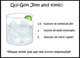 Qui-Gon Jinn and tonic