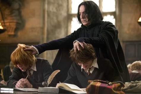 Severus Snape, Harry Potter, Ron Weasley, Goblet of Fire