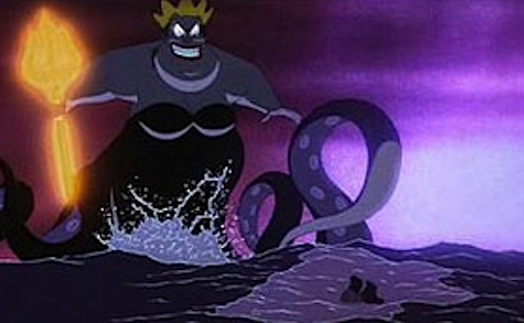Ursula at her most sea-monsterest