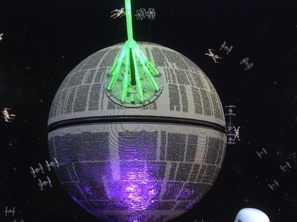 Lego Death Star Alderaan Death Star is 500,000 Lego